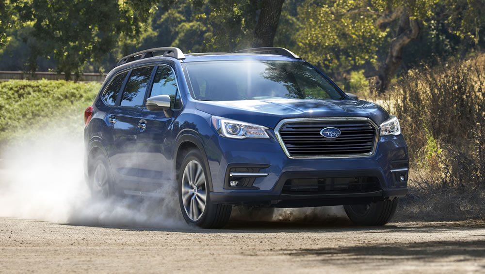 Subaru Ascent off road