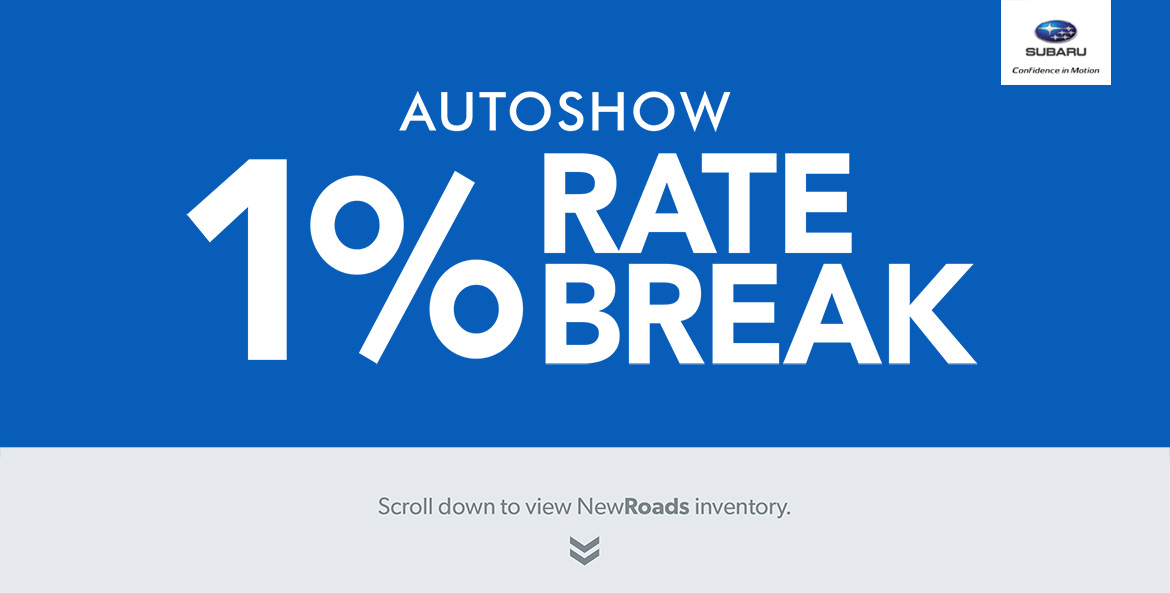 Autoshow Interest Rate Special