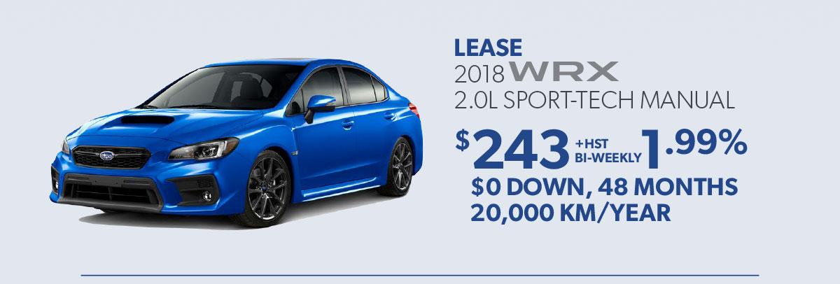 Subaru WRX Special