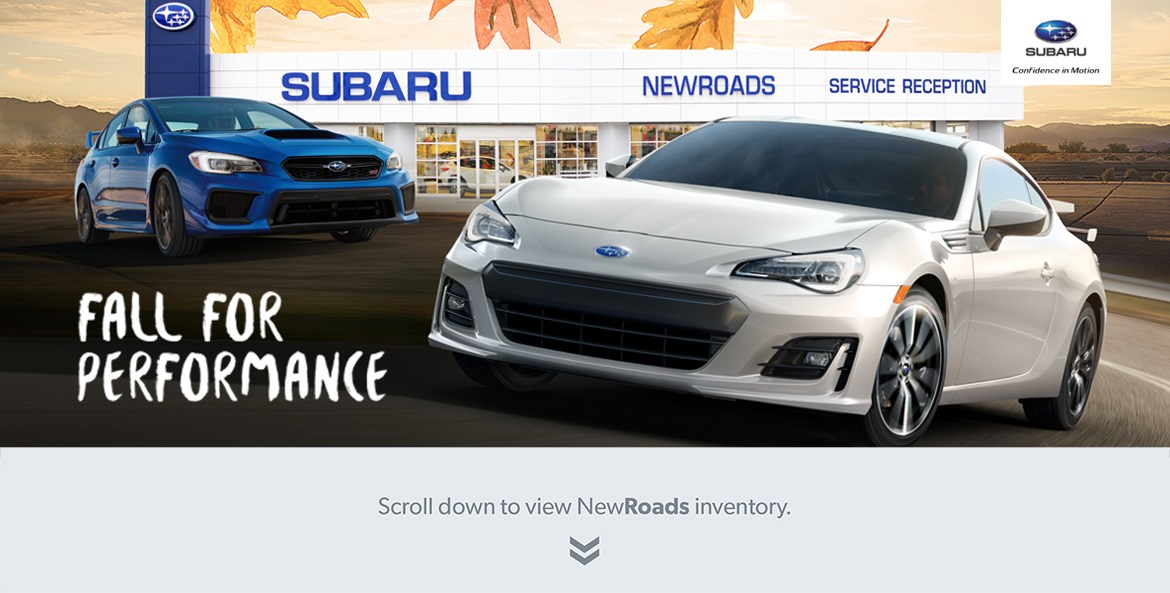 Subaru dealer in Newmarket